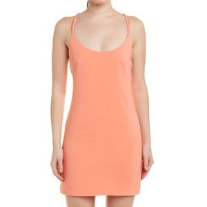 French Connection Coral Mini Slip Dress